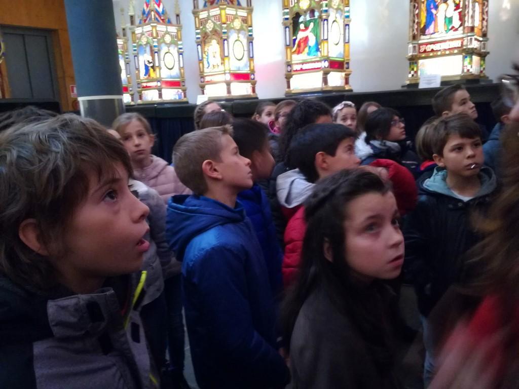4º Primaria visita la Virgen Blanca y el Museo de los Faroles