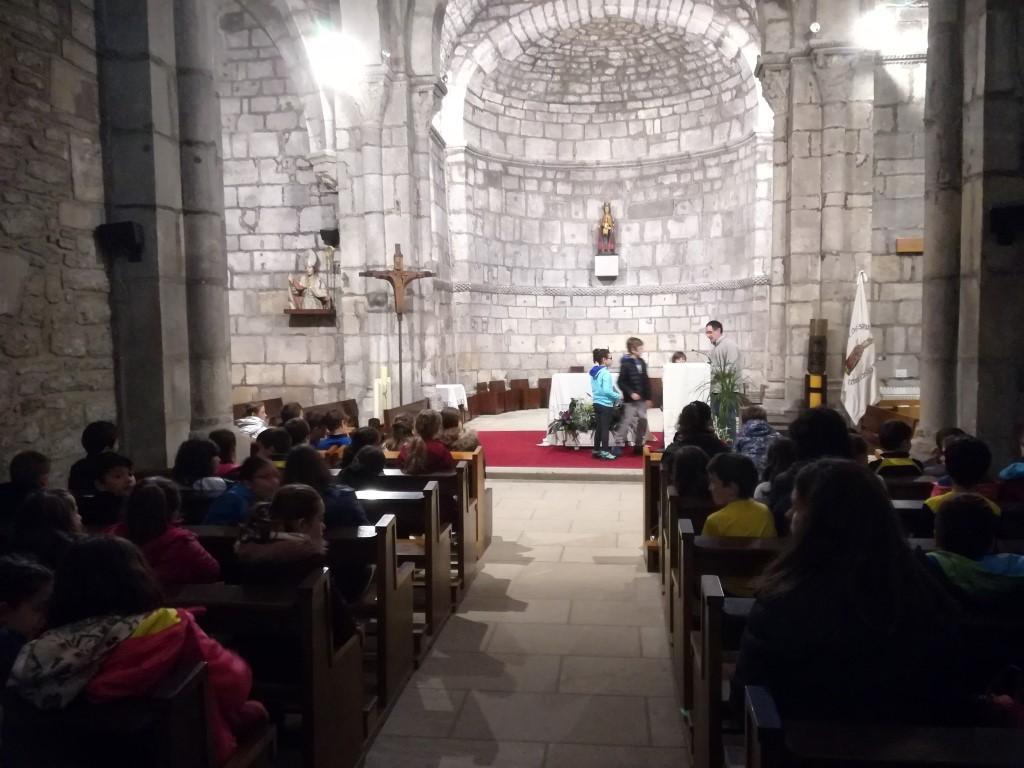3º Primaria visita a la Virgen de Estíbaliz.