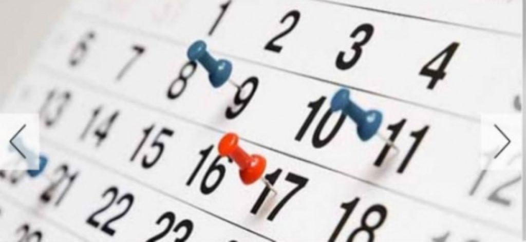 CALENDARIO ESCOLAR 2019-2020 ESKOLA EGUTEGIA