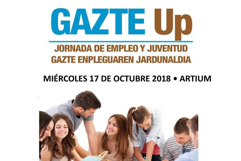 IV  Jornada Juventud y Empleo, Gazte Up!