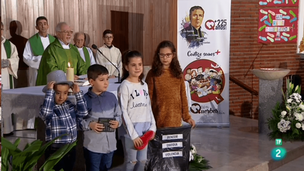 Misa 225 aniversario en la parroquia San Félix de Madrid