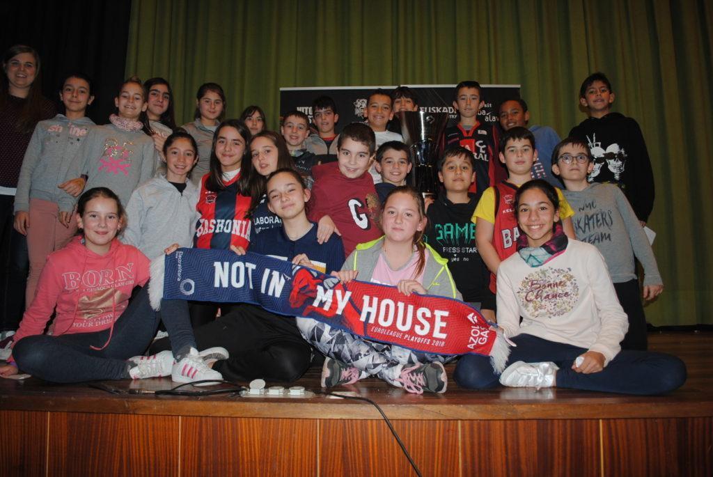 Visita Jugadores del Baskonia