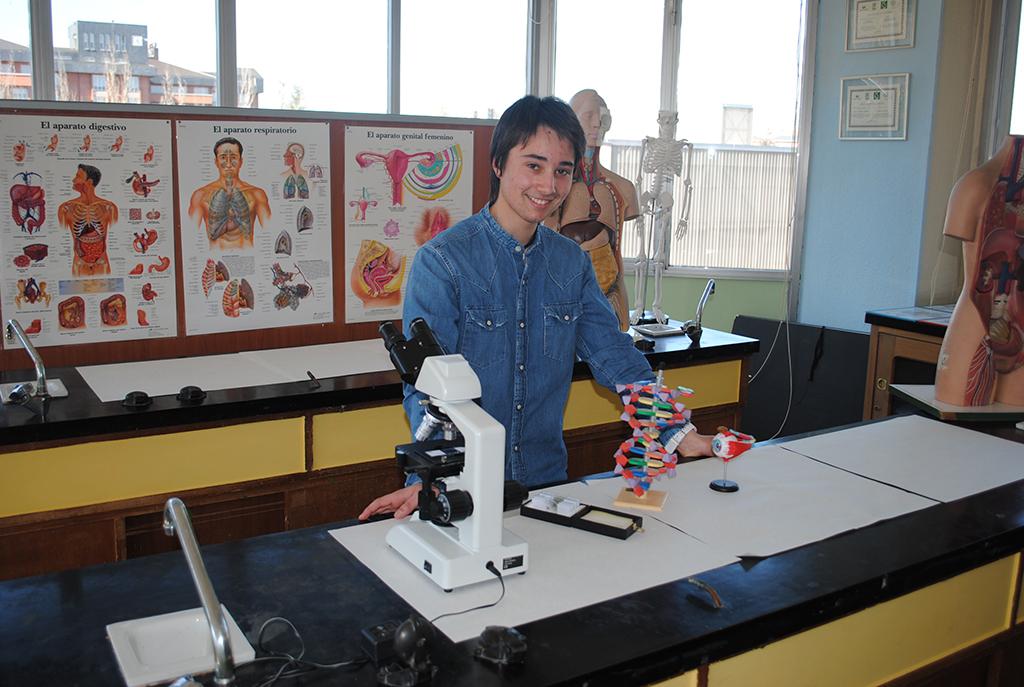 Campeón de Euskadi Olimpiada de Biología