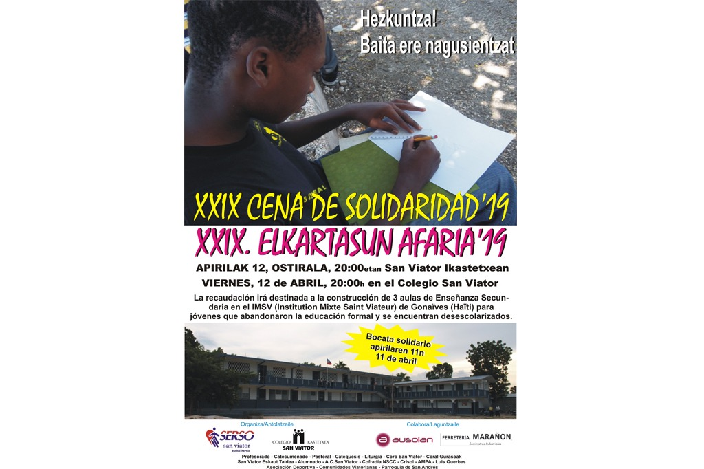 XXIX Elkartasun Afaria 2019