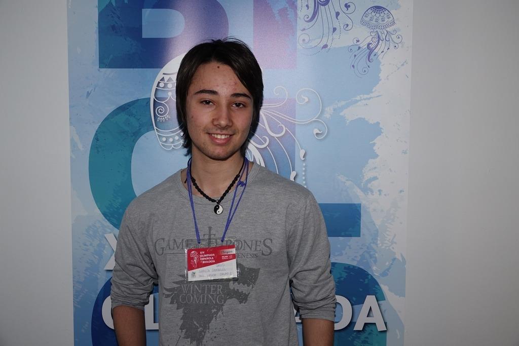 David García – Olimpiada Nacional Biología