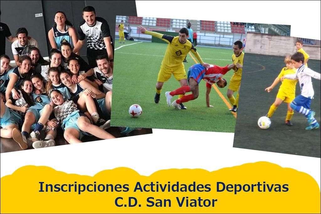 Abiertas Inscripciones Actividades Deportivas C.D. San Viator