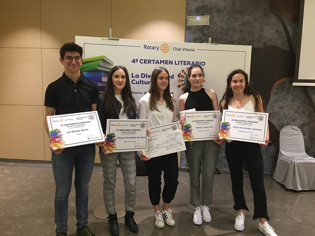 """4º Certamen Literario del club Rotary """" La diversidad cultural"""