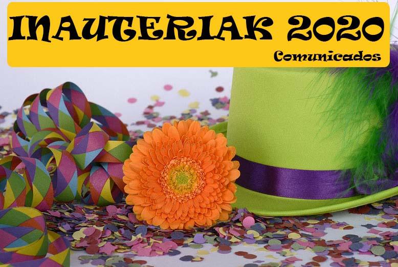 Carnavales 2020 – Inscripciones
