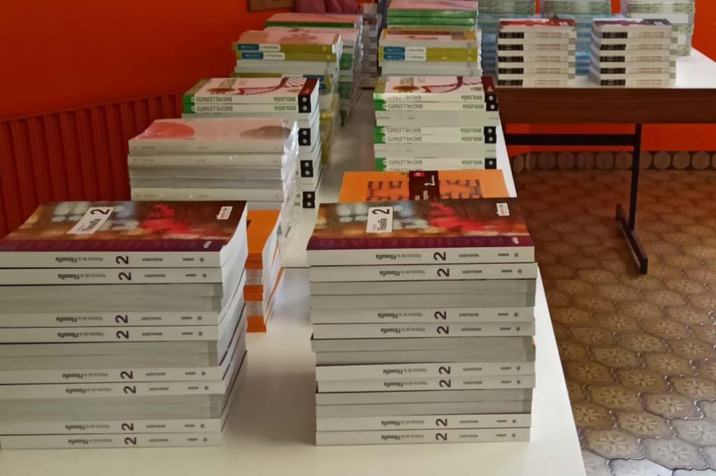 Recogida de libros
